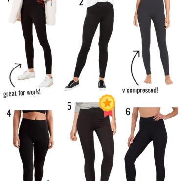 black leggings review