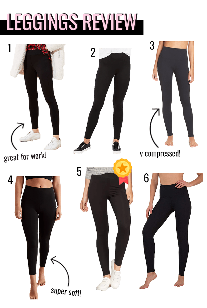 black leggings review