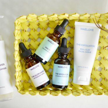 maelove skincare products
